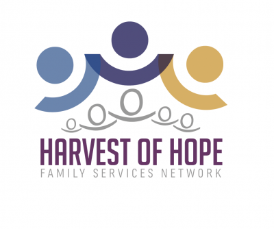 Brand Identity - Text With Symbol: Harvest of Hope