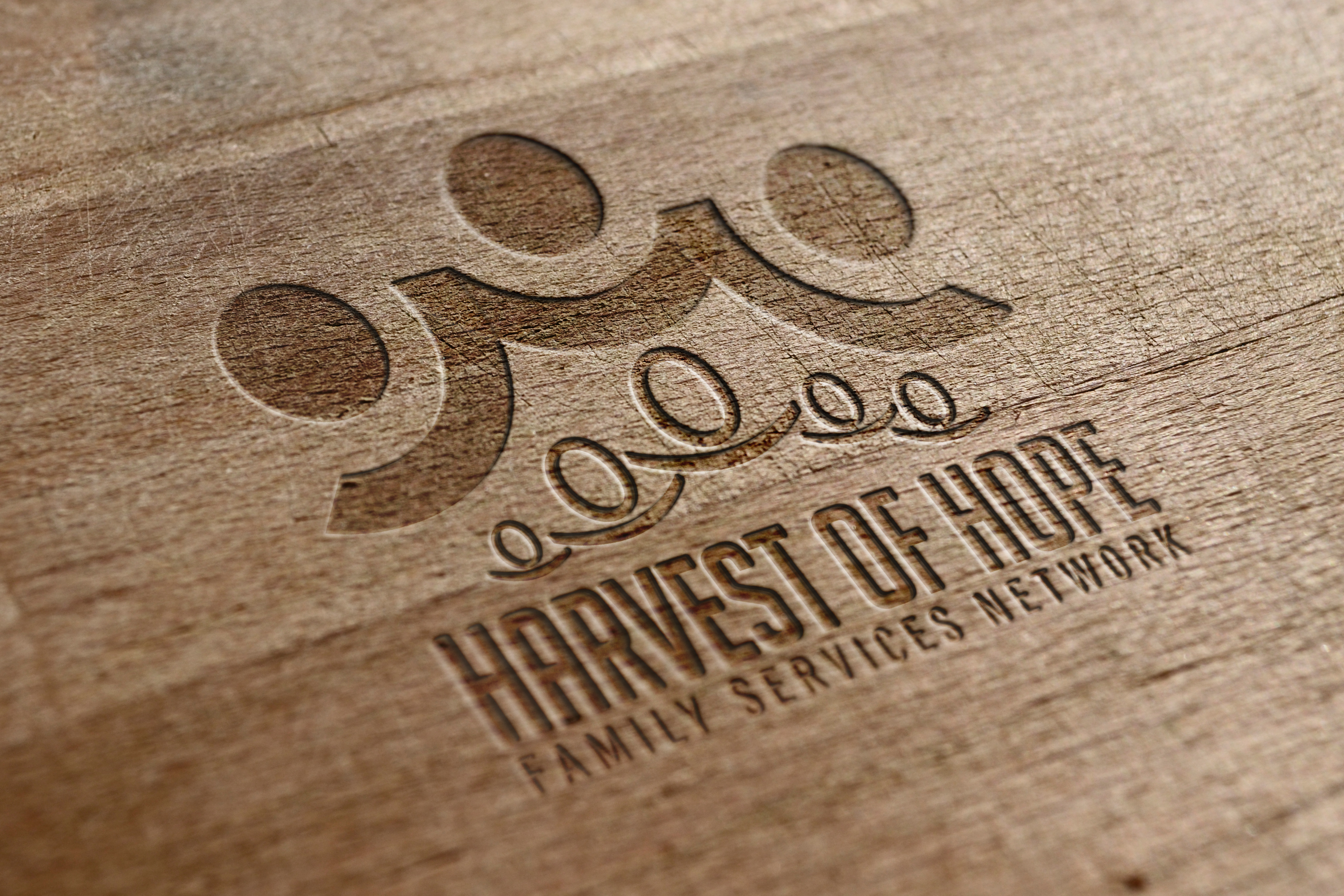 Brand Identity - Mockup: Harvest of Hope