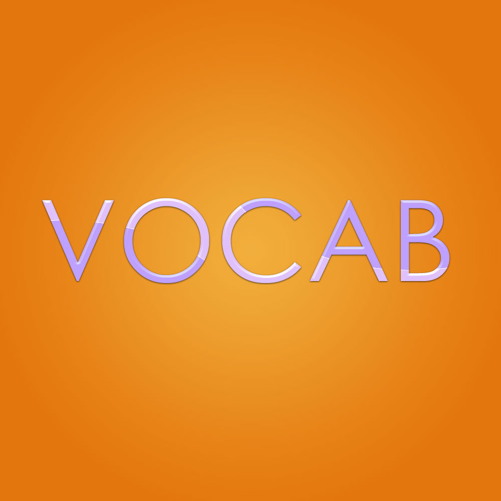 Brand Identity - Illustrated: Vocab