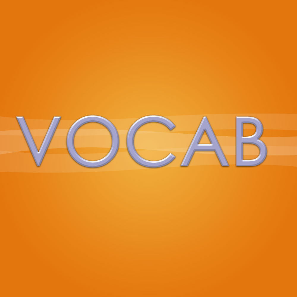 Brand Identity - Color Study: Vocab