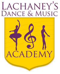 Brand Identity - Text With Symbol: LaChaney's Dance & Music Academy