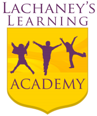 Brand Identity - Text With Symbol: LaChaney's Learning Academy