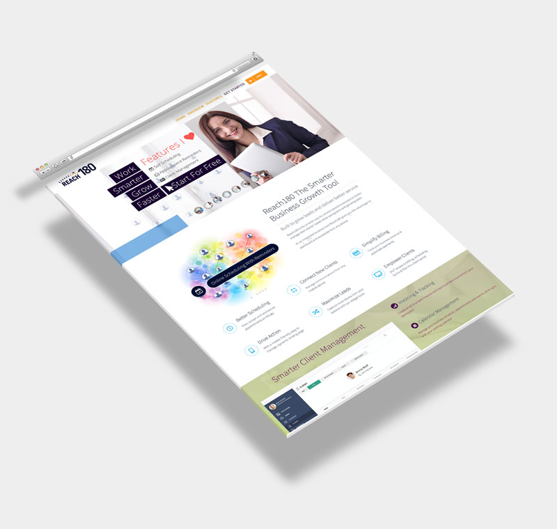 Reach 180 - Home Page